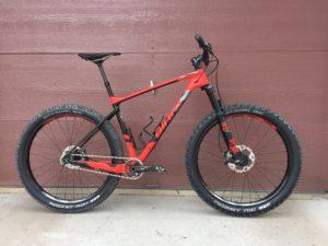 Giant XTC Advanced 27.5+ bikepacking gear