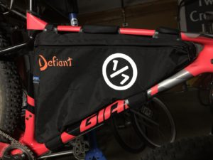 Defiant packs bags