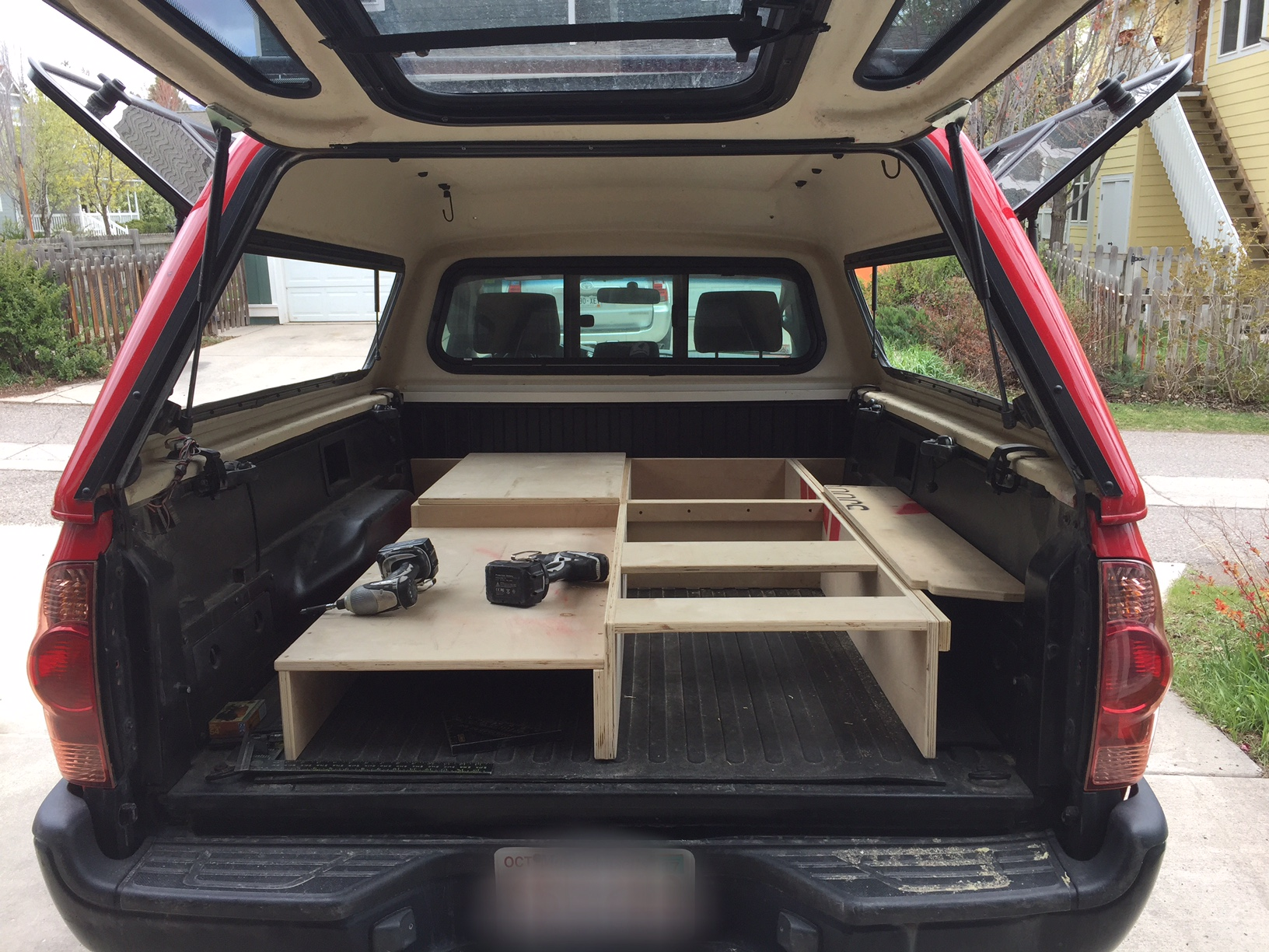vanlife build out