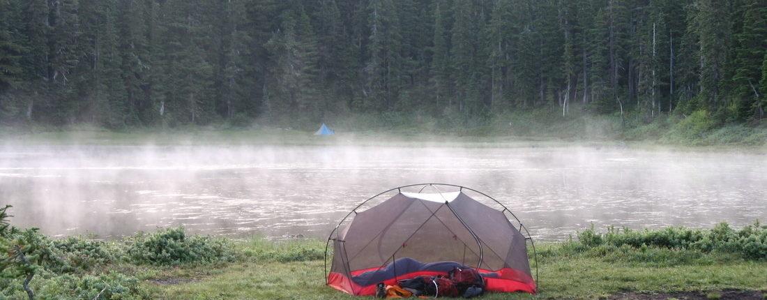 MSR Tent gear hiking