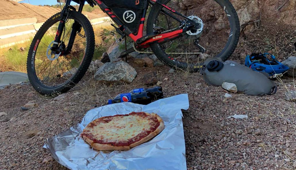 azt pizza Arizona Trail Dispatches